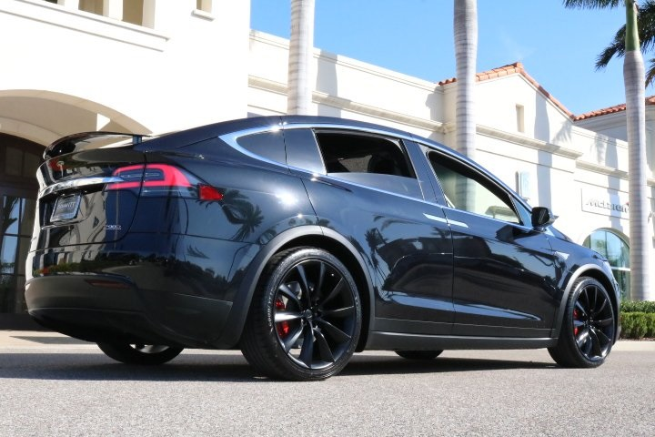 pre owned 2016 tesla model x p90d 4d sport utility in pinellas park p2656a dimmitt automotive. Black Bedroom Furniture Sets. Home Design Ideas